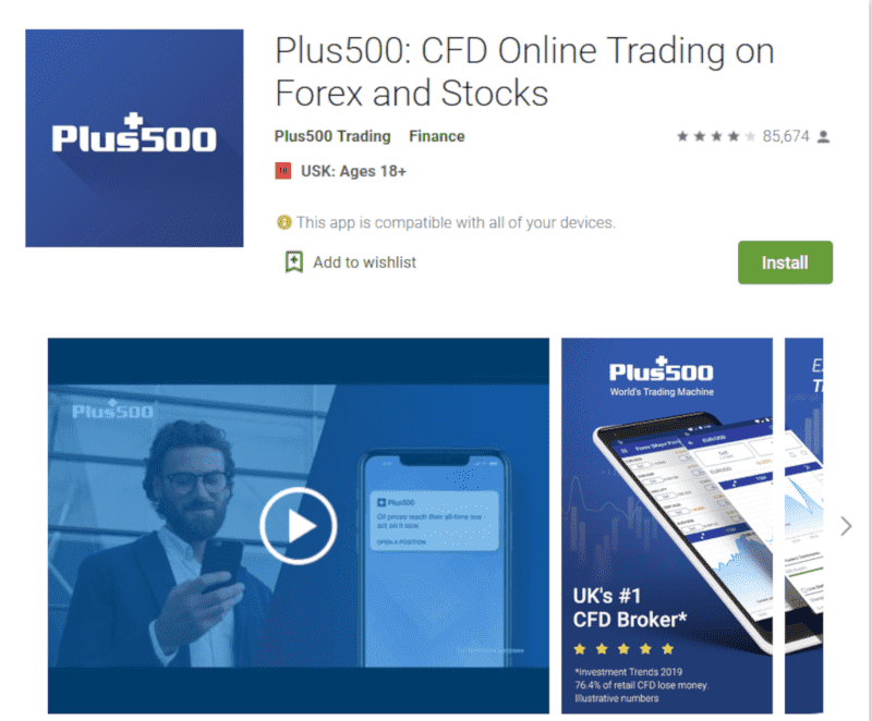 Plus500 Mobile - apps