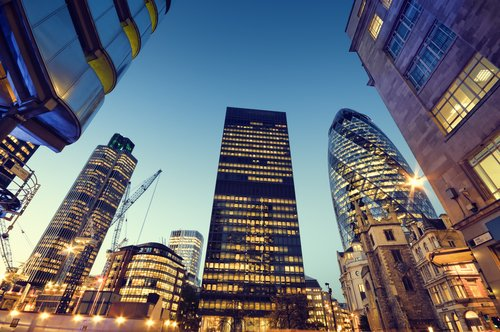 Contact us page of BrokerTrending - London office