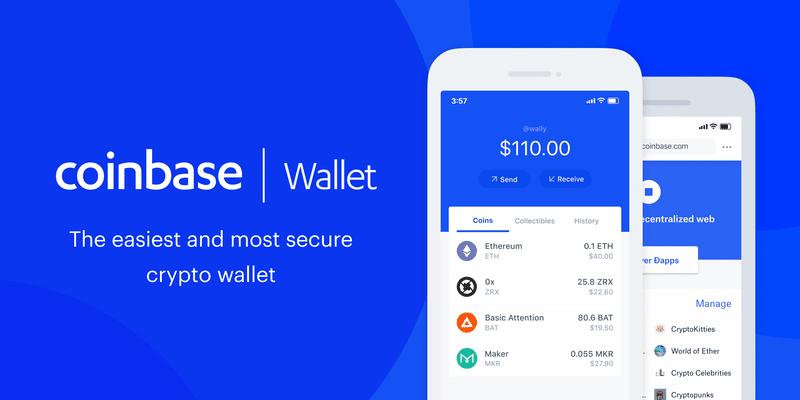 Open a Coinbase wallet on mobile